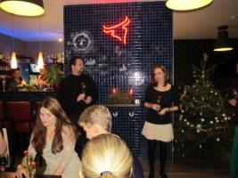 vánoční HOPE party_přípitek