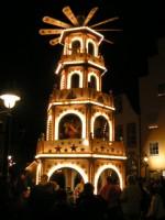 vánoční pyramida v Německu