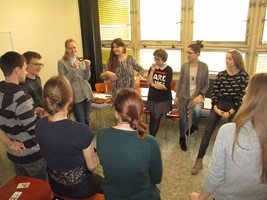 soutěžní odpoledne pro studenty češtiny pro cizince