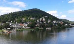 město Heidelberg