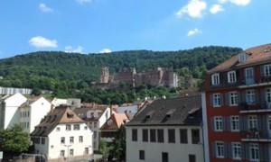 polozřícenina zámku v Heidelbergu