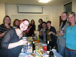 lektorky oslavily běloruské Vánoce