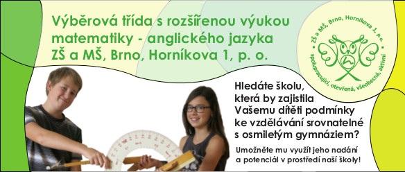 Výběrová třída ZŠ Horníkova