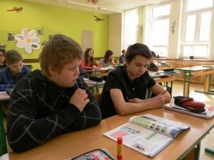 Výběrová 6. třída na základní škole v Líšni