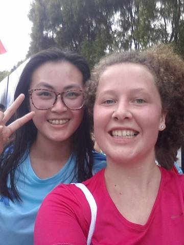 Zuzka v Číně